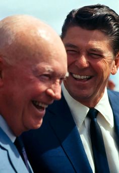 Dwight Eisenhower & Ronald Reagan.  The 2 best Republicans to occupy the White House during my lifetime to date.
