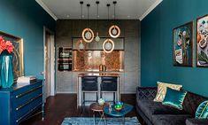 """Дизайнер Женя Жданова оформила яркую квартиру для пары сдвумя детьми, вдохновившись... съемкой AD """"Уроки истории""""."""