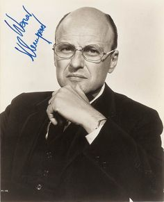 """Actor, T/5 Werner Klemperer US Army (Served 1942-1945) Short Bio: Best remembered as """"Col Klink"""" in TV's """"Hogan's Heroes"""", German born Klemperer served during WWII in the US Army's Special Services Unit which was led by Maurice Evans. He was stationed in Hawaii spending two years touring the Pacific entertaining the troops."""