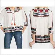 Fashion Women Ladies 3/4 Sleeve Shirt Casual Blouse Loose Tops T-Shirt
