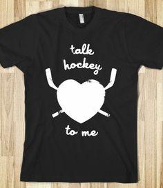 Talk Hockey To Me (Dark)