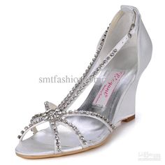 986f7f36801 52 Stunning Wedge Silver Wedding Shoes