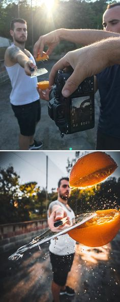 Photographer Uses Creative Tricks To Take Amazing Pictures New Pics) - Creative-Photography-Tips-Tricks-Jordi-Puig Creative Portrait Photography, Photography Lessons, Creative Portraits, Creative Photos, Photography Tutorials, Popular Photography, Inspiring Photography, Beauty Photography, Digital Photography