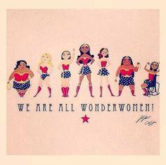 We are all Wonderwomen !