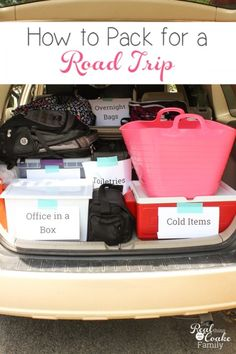 This is a great post with how to pack the car for a road trip! Has great tips and advice to make our summer travel even better.
