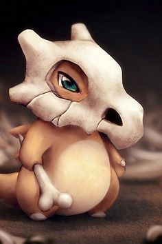I love Cubone. My favorite since I was a kid.