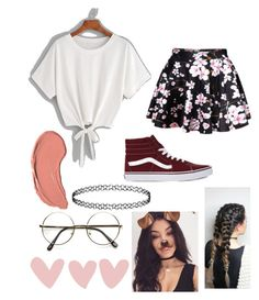 """""""happy easter!"""" by moeburgs17 ❤ liked on Polyvore featuring Vans, WithChic, NYX, Bellissima and ZeroUV"""