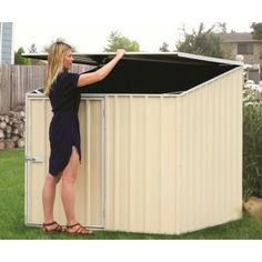 Pool Cover Storage Ideas wood planks box for pool equipment storage with large air circulators Interesting Little Shed Bit Like A Bin B Ut You Can Open It From Top Pool Storageshed