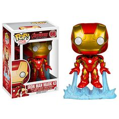 Iron Man Pop ! Figurine Funko en vinyle