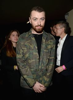 Sam Smith au défilé Saint Laurent