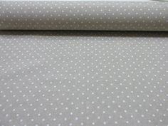 Metraje 0,50 mts tejido loneta estampada Ref. Motitas Blanco fondo Culla, con ancho 2,80 mts.: Amazon.es: Hogar