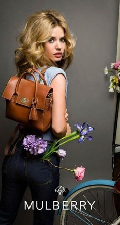 Georgia May Jagger for Mulberry