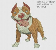Excited to share the latest addition to my #etsy shop: Machine Embroidery Designs Embroidery dog pit bull Digital embroidery Maschin en stickerei design of machine embroidery https://etsy.me/2EKEt6X #supplies #crossstitch #embroiderydesigns #dogembroidery #pitbullembro