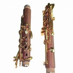 Gold-plated 18K Bb Tone Rosewood Clarinet