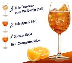 3,2,1 … Der Countdown zum Aperol Spritz   Aperol Spritz - ein fruchtig herber Genuss