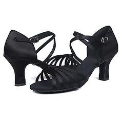 afd382cbd743 Na zakázku - Dámské - Taneční boty - Latina   Salsa - Satén - Podpatek na