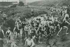 Children play at the site of the original Bull Well in Bulwell the site is at moorbridge near the tram stop Children Play, Strange History, History Photos, Nottingham, Family History, Genealogy, Old Photos, Kids Playing, Growing Up