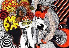 Nikki Farquharson Mixed Media Illustrations by rosa
