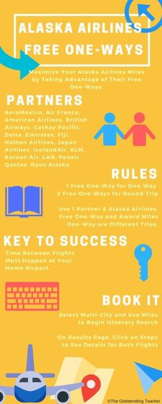 Alaska Airlines Free One-Way- Do you know how to maximize your Alaska Airlines miles?
