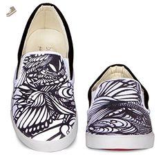 BucketFeet Pescao Low Top Canvas Slip-On 8 - Bucketfeet sneakers for women (*Amazon Partner-Link)