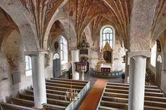 Pyhän Pietarin kirkko, Siuntio, kuvaaja Kurt Kokko.  The Church of St. Peter in Siuntio, Finland