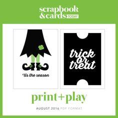 Print & Play by Cathy Zielske!