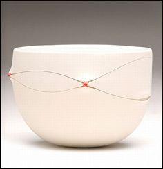 scarrified palm bowl -by Imiso Ceramics via Flickr