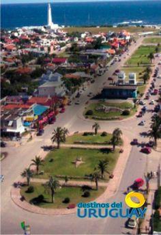 La Paloma la ciudad se encuentra situada en la zona sur del departamento de Rocha, en el cabo de Santa María, y en el cruce de las rutas nacionales 10 y 15. La distancia que la separa de Montevideo, la capital de Uruguay, es de 240 km, y se encuentra a aproximadamente 90 km de Punta del Este y 160 km de Chuy, ciudad fronteriza con Brasil.