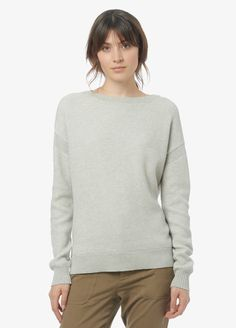 Two-Color Jacquard Sweater