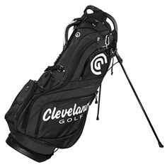The Cleveland Golf brand has been making high-quality stand bags for years, and the CG Stand Bag is no different. Featuring dividers and comfortable straps, this bag also includes a pen holder, a tee holder, and a fleece-lined valuables pouch. Golf 6, Play Golf, Mens Golf, Golf Stand Bags, Cleveland Golf, Hip Pads, Golf Putting Tips, Golf Instruction, Golf Tips For Beginners