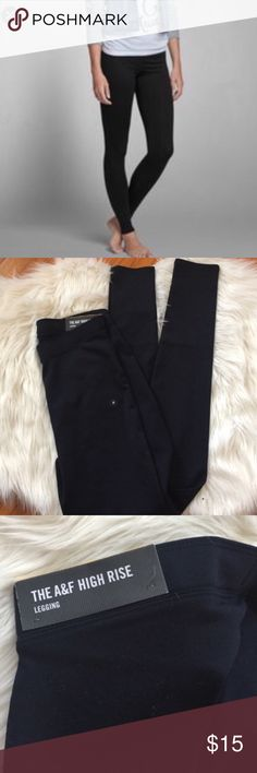 🎀 NWT Abercrombie Legging Black NWT No low balls, no trades Abercrombie & Fitch Pants