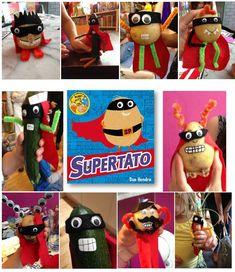 Make a Supertato Super Hero Activities, Eyfs Activities, Nursery Activities, Book Activities, Science Resources, Activity Ideas, Summer Activities, Superhero Preschool, Superhero Classroom