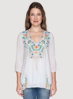Tropic Blouse Frost