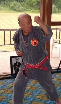 Eizo Shimabukuro Hanshi  Shobayashi Shorin Ryu
