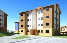 O Doce Vida Flora - Trata-se de um condomínio residencial composto por 304 unidades residenciais de 02 (dois) ou 03 (três) quartos de 44,79m² a 56,46m² distribuídas em 17 blocos - Immobile Arquitetura