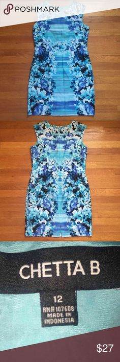 Lord & Taylor Chetta B dress I'm helping my mother sell her used clothes as well. She purchased this from Lord & Taylor. In excellent condition. Lord & Taylor Dresses