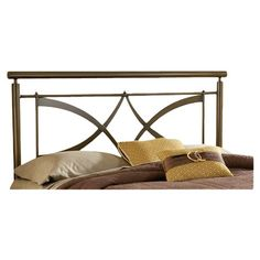 Found it at Wayfair - Marquette Metal Headboard in Brushed Copper