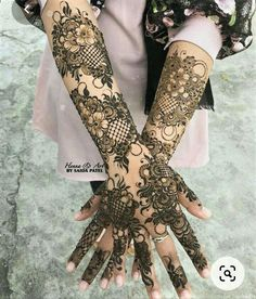 Wedding Henna Designs, Modern Henna Designs, Indian Henna Designs, Rose Mehndi Designs, Latest Bridal Mehndi Designs, Henna Art Designs, Mehndi Designs 2018, Stylish Mehndi Designs, Mehndi Designs For Girls