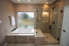 The spa like bathroom design ideas we found has got some different features you can include, all you need is to select your favorites, pin them and save them for when you are looking to design your new bathroom. There are plenty to pick from, from ceiling showers to nice, isolated, bathtubs, you can give your new bathroom the feeling of fanciness and an entirely put-together look. After deciding which fixtures you want to feature, all you need is completing the look with nice towels... Bathroom Layout, Bathroom Interior Design, Bathroom Storage, Bathroom Ideas, Bathroom Organization, Bathroom Inspiration, Bathroom Designs, Tile Layout, Bath Ideas