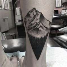 Mountain Tattoo. There is no single mountain that is high enough to discourage body art lovers. Therefore if you have ever dreamed of moving mountains, its time you get a mountain tattoo. Mountains are huge, breath taking, impressive and the best thing about these nature elements is that they have never lost their majesty including in smaller tattoos.