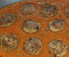 Rezept Albondigas - Hackbällchen in Tomatensoße von bellissima89 - Rezept der Kategorie Hauptgerichte mit Fleisch