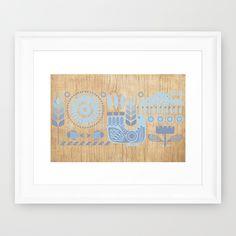 Folk II Framed Art Print