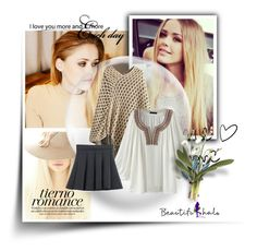 """""""18.Beautifulhalo"""" by hetkateta ❤ liked on Polyvore featuring beauty and bhalo"""
