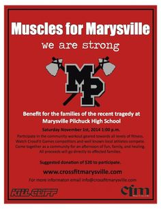 Muscles For Marysville