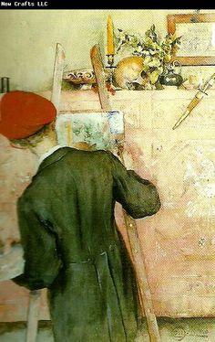 Carl Larsson stillebenmalaren