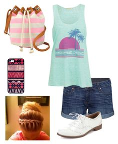 """""""Untitled #239"""" by haleyhuff736 ❤ liked on Polyvore featuring Paige Denim, Brave Soul, Arizona and BlissfulCASE"""