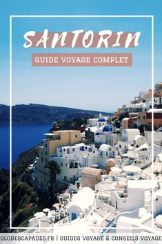Go to Santorini: Our full information for a visit to the Cyclades Islands (Greece). Greece Destinations, Honeymoon Destinations, Greece Vacation, Greece Travel, Mykonos, Greece With Kids, Blog Voyage, Greek Islands, Night Life