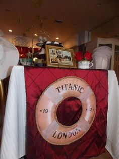 Titanic Theme - Perhaps add the couples names for en engagement party or a Birthday Girls Name