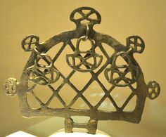 Hittite sun standard from Alacahöyük, 2500 BC. Artifacts found from The Museum of Anatolian Civilizations in Ankara, Turkey. (Photo by Marko Manninen)