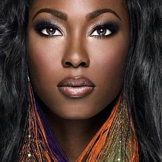 Love this look from IMAN Cosmetics!